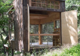Topanga Cabin, California by architect Mason St. Peter