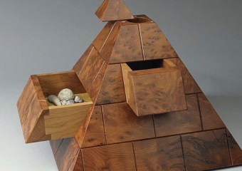 Pyramid Box by Kelly Parker