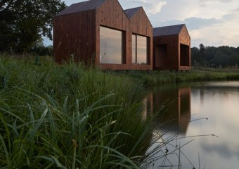 Cottage Near a Pond, Prague, Czech Republic by Studio A111