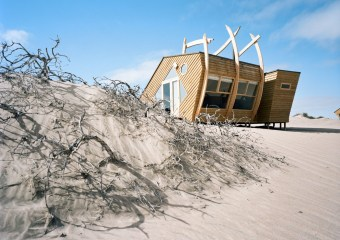 Shipwreck Lodge, Skeleton Coast, Namibia by Nina Maritz Architects