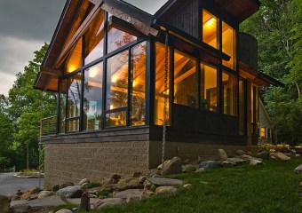 River Road Renovation, Hunting Valley, Ohio by Peninsula Architects