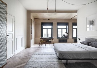 Interior KG, a short term stay apartment in Saint Petersburg by int2 Architecture