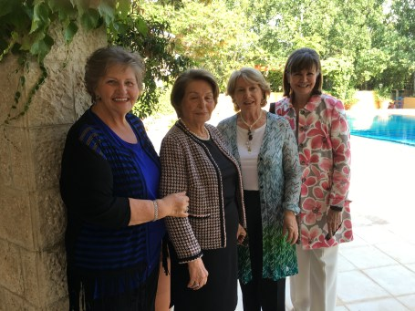 2016-5-29 Sister Phillips with guests at Garden Party