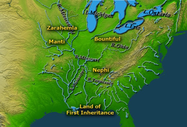 Heartland Geography River System