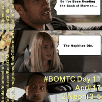#BOMTC Day 11, April 17~2 Nephi 3-5 or Pages 61-66: Life's Defining Moments