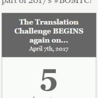 #BOMTC T-Minus 5 Hours