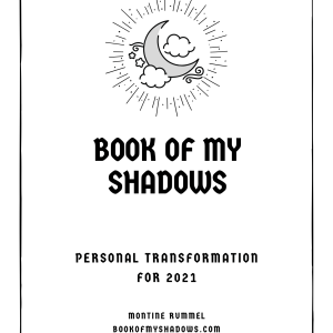 Book of My Shadows for 2021 cover