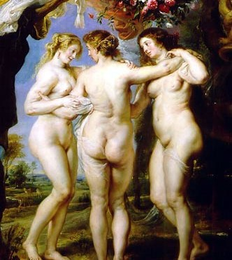 Three Graces by Peter Paul Rubens