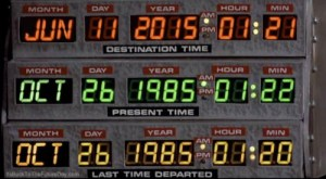back to the future June 10, 2015