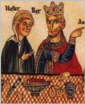 Queen Esther - King Ahasuerus