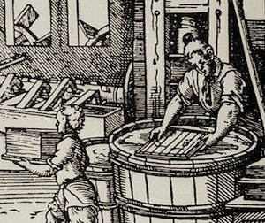 16th-century paper making