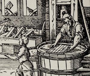16th-century paper making