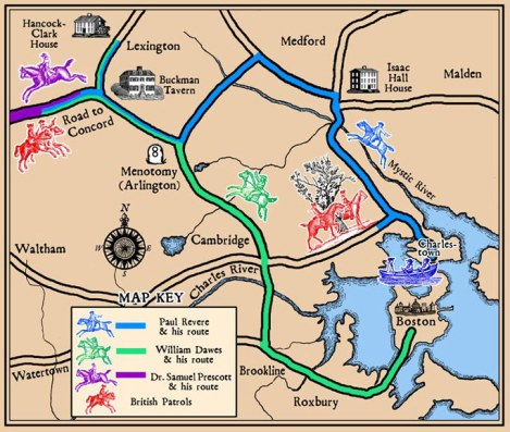 midnight ride map