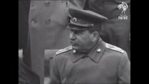The Big Three Churchill, Roosevelt & Stalin Discuss Post-War Europe (1945) War Archives