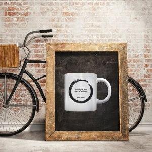 Inspirational Mug With Living Now Saying