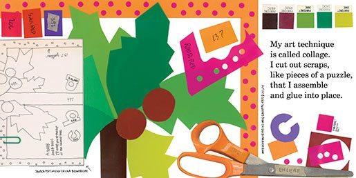 The Scraps Book interior