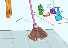 #SaraReads: Essay-What if I were….a floor mop!
