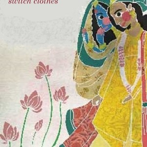 Bookosmia's Indian Folklore Radha and Krishna switch clothes
