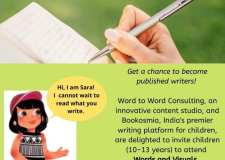 The Hindu talks about Booksomia partnership with Word to Word Consulting for nurturing young authors