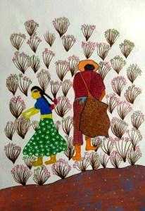 Sara reads Plantation worker story by kids Bookosmia
