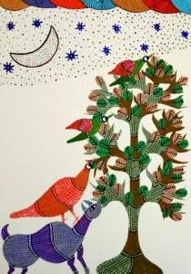 Gond Art with Sara Bookosmia