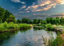 'If I could ask the river' Poem