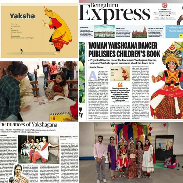 Yaksha children's book by Bookosmia in the news