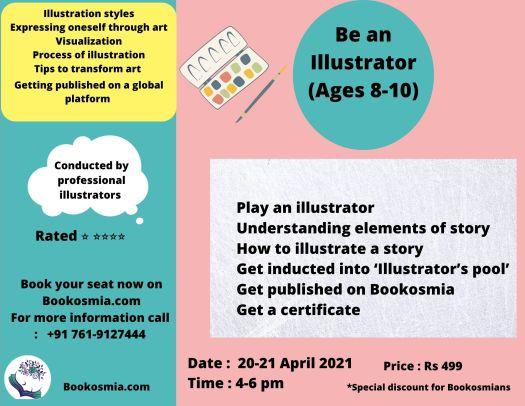 Learn Illustrating for kids Bookosmia