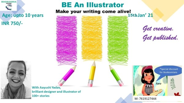 Be an Illustrator Junior Workshop for kids