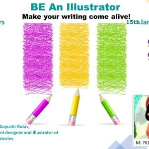 Be an Illustrator Junior Workshop for kids