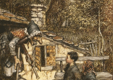 'Sunshine at last for Hansel & Gretel' An unfairy tale by 12 year old Bookosmian from Kolkata