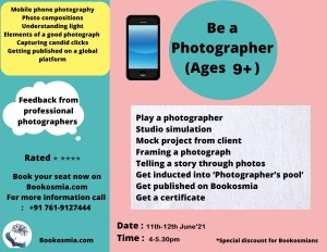 Learn Photography for kids