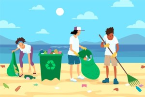 Together, let's make the earth cleaner