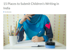 Bookosmia tops list of 15 Places to Submit Children's Writing in India