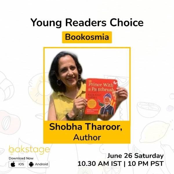 Shobha Tharoor on Bookosmia