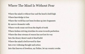 Tagore - The crown jewel of literature