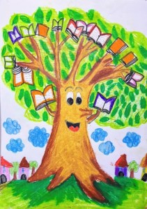 Plant trees -  Best books from the wise old book tree