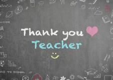 Dear Teachers – A Note From A Grateful Student | Bookosmia