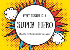 To my teacher - Thank you for inspiring me