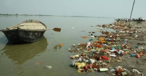 River pollution - Flow away river, you deserve better