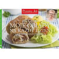 """Książka kulinarna Joli Caputy """"Moje obiady na każdy dzień"""""""