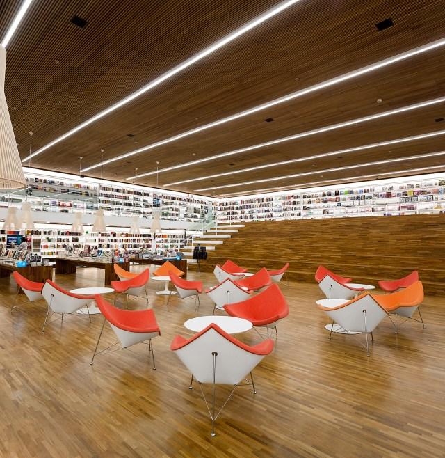 Cultura Bookstore - Studio MK27 2