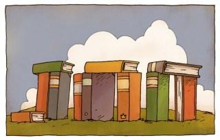 Girouard Bookhenge