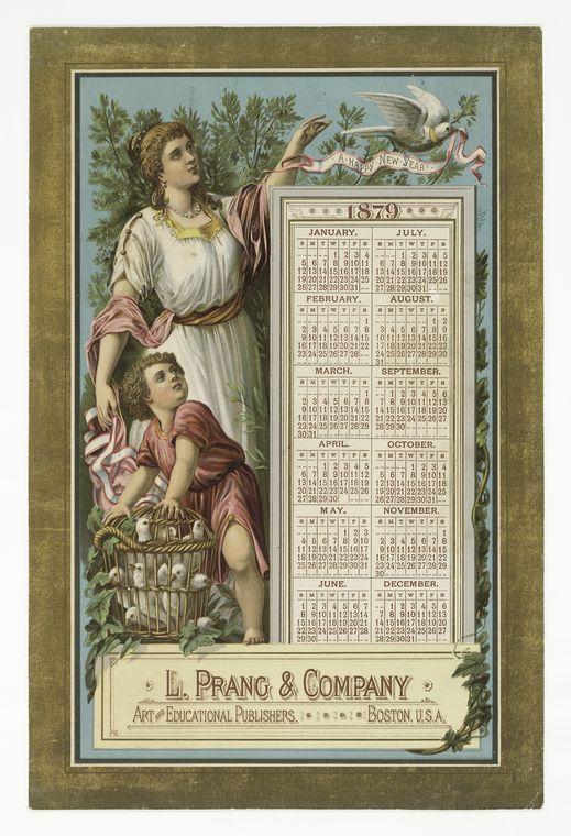 Calendars L. Prang & Co.  1879