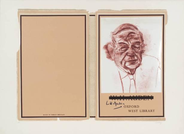 W.H. Auden 1966-70 by R.B. Kitaj 1932-2007