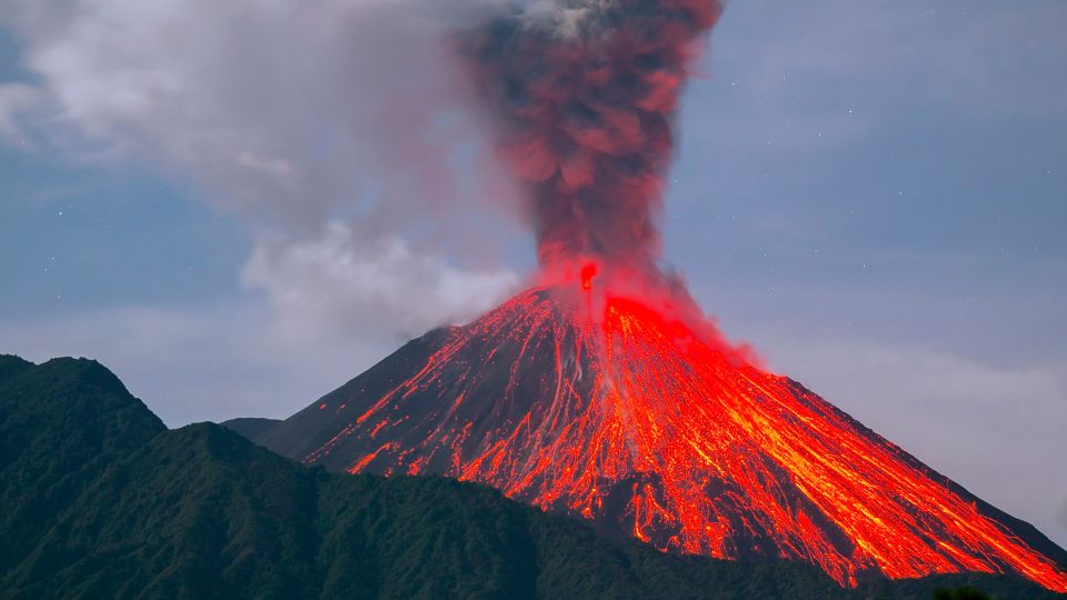 Famous Volcanoes in the World Notes 2021