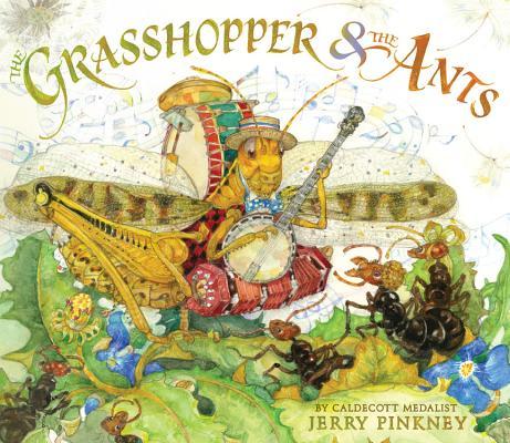grasshopper ants