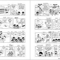 『英語コミックス おそ松くん ベスト・コレクション』赤塚不二夫さんの傑作ギャグマンガを楽しみながら英会話が身につく!