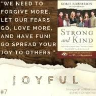 Strong and Kind Joyful