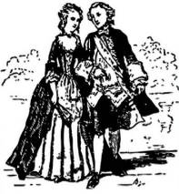 Colonial Couple Free Use